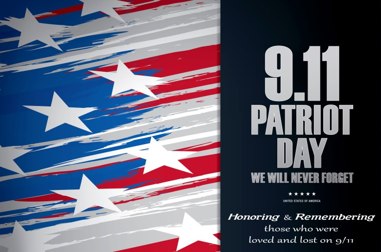 61860370 - patriot day. september 11. we will never forget
