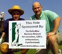 DallasBlue golf sponsor