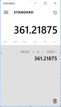 SQl Server Index size calculator