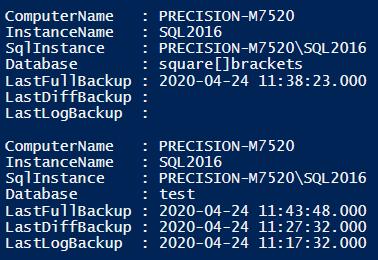 TIL: Get-DbaLastBackup