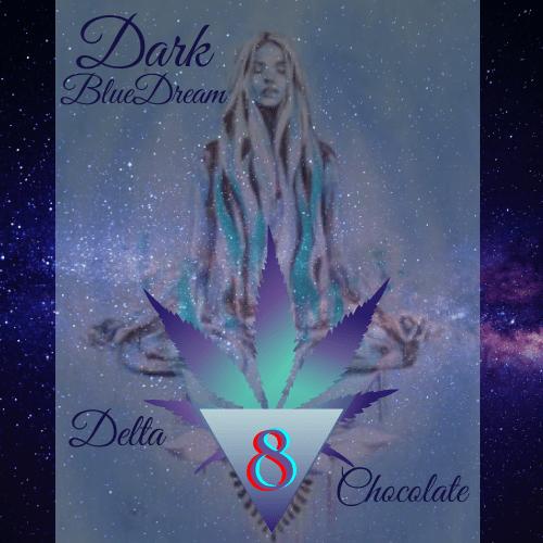 Delta 8 Blue Dream Dark Chocolate