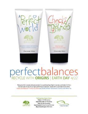Origins Earth Day Ad