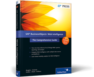 SAP Press Web Intelligence 2nd Edition