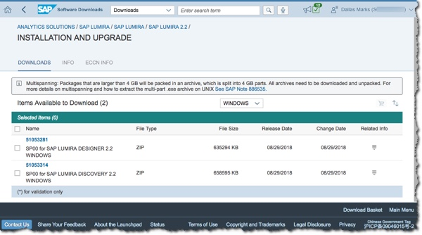 SAP Lumira 2.2 Now Available 20180829