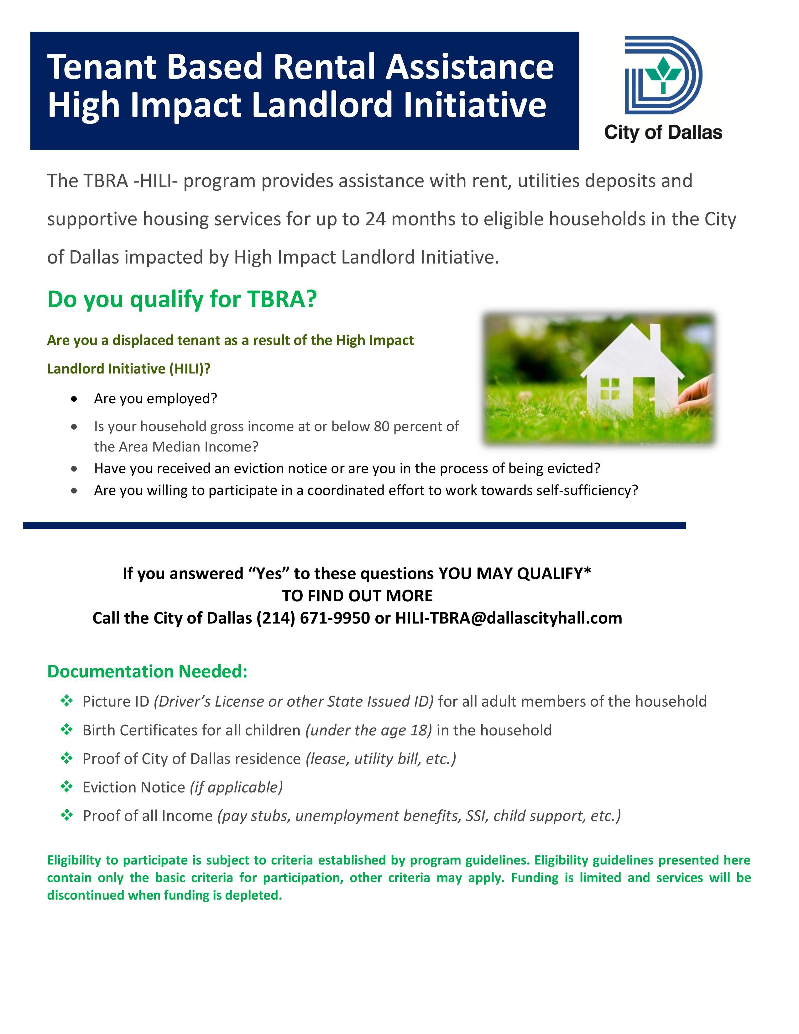 Fresh Start Housing Assistance