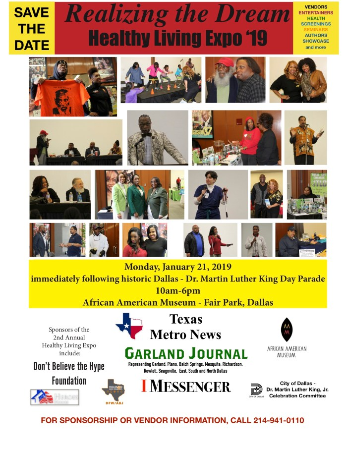 2nd Annual Realizing the Dream: Healthy Living Expo @ African American Museum of Dallas