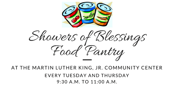Showers Of Blessings Food Pantry The Martin Luther King Jr