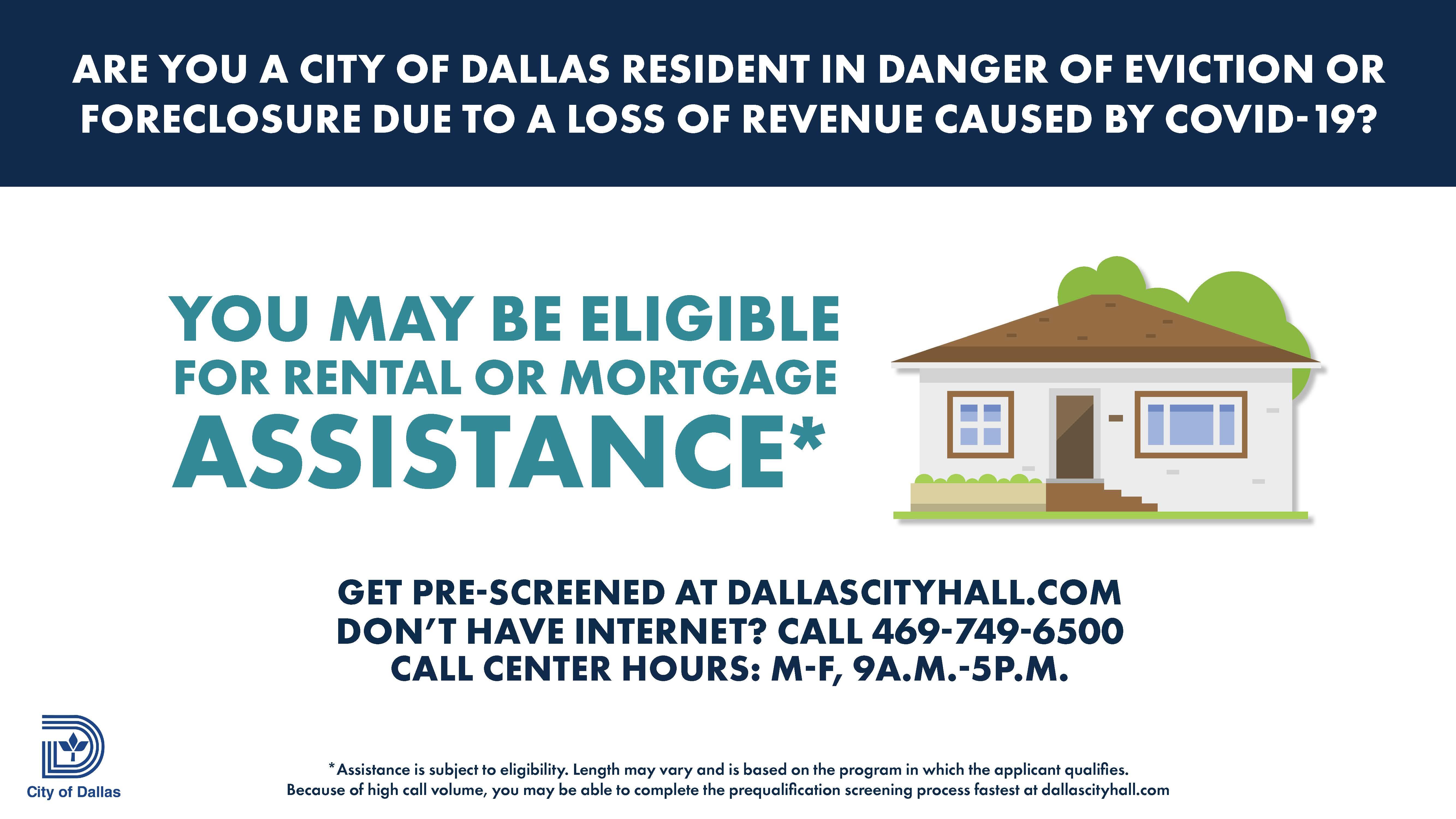 City Of Dallas Covid 19 Relief Programs