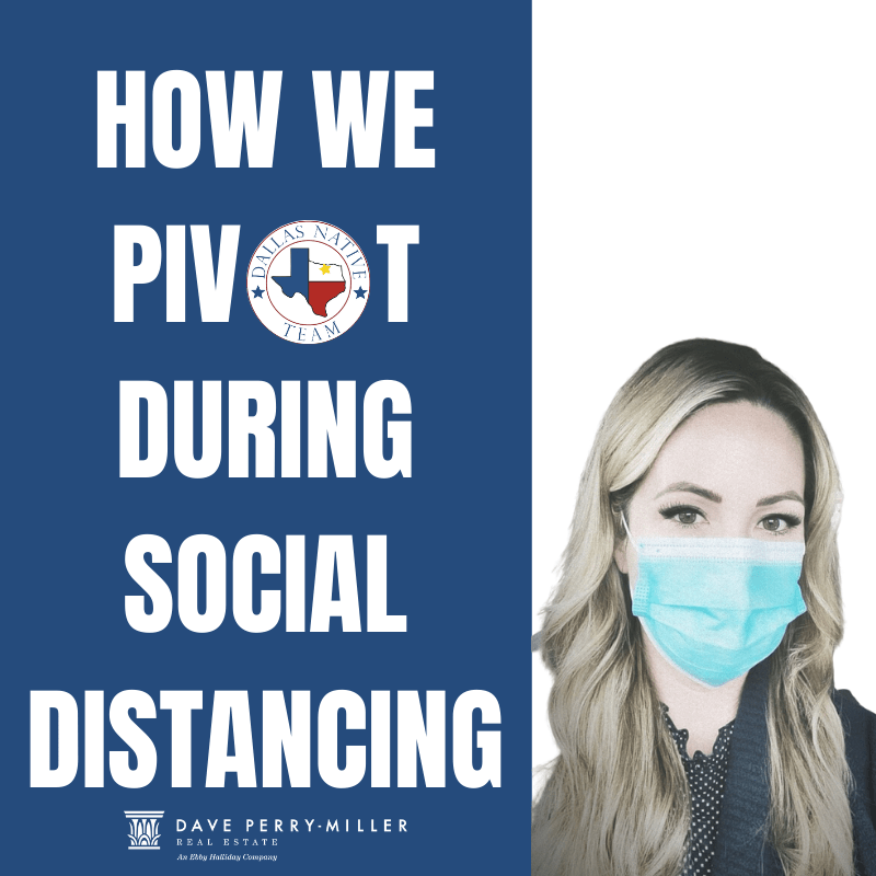 How We Pivot During Social Distancing