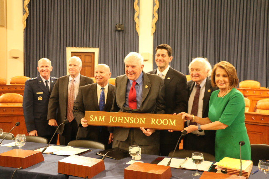 Congressional Hearing Room Named In Honor Of War Hero Plano Rep Sam Johnson Politics