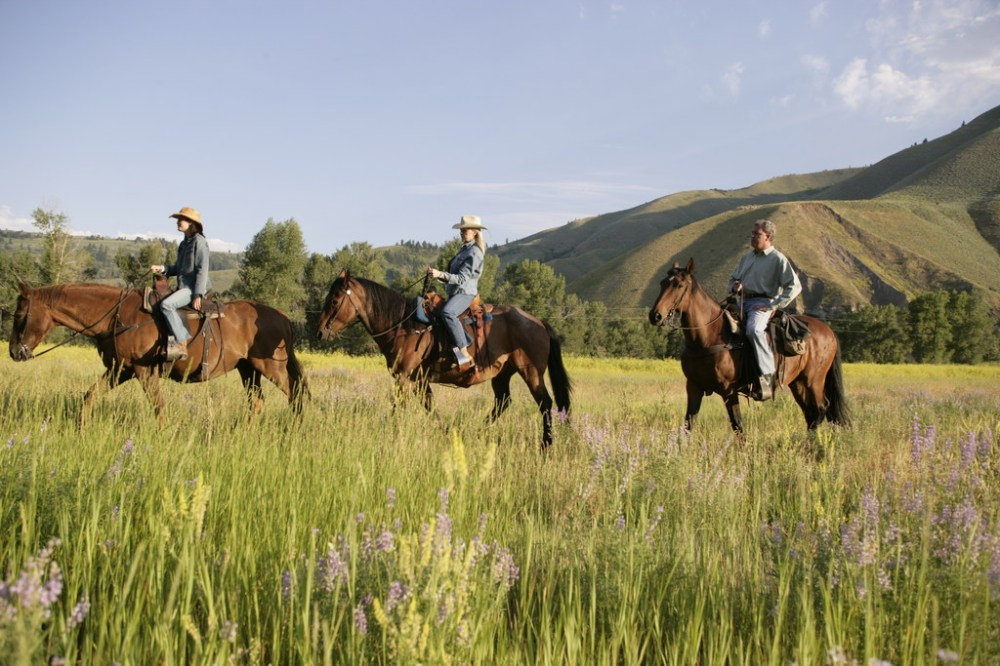 The Snake River Sporting Club in Jackson Hole, Wyoming offers girls getaway options.(Snake River Sporting Club)