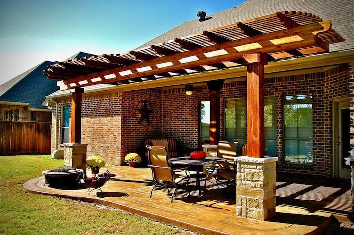 pergola patio cover add more shade to