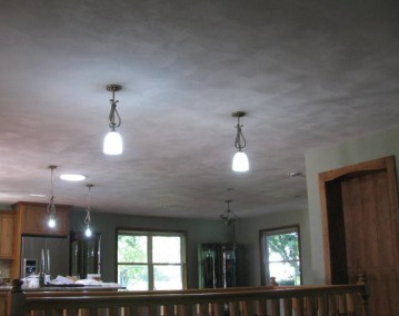 Sand Finish Ceiling