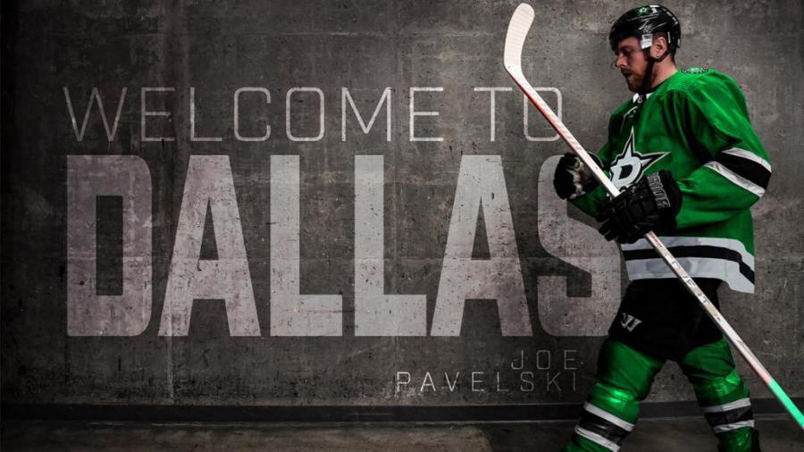 Welcome Joe Pavelski