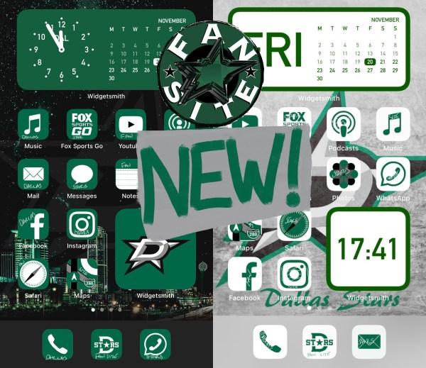 Dallas Stars iPhone icons