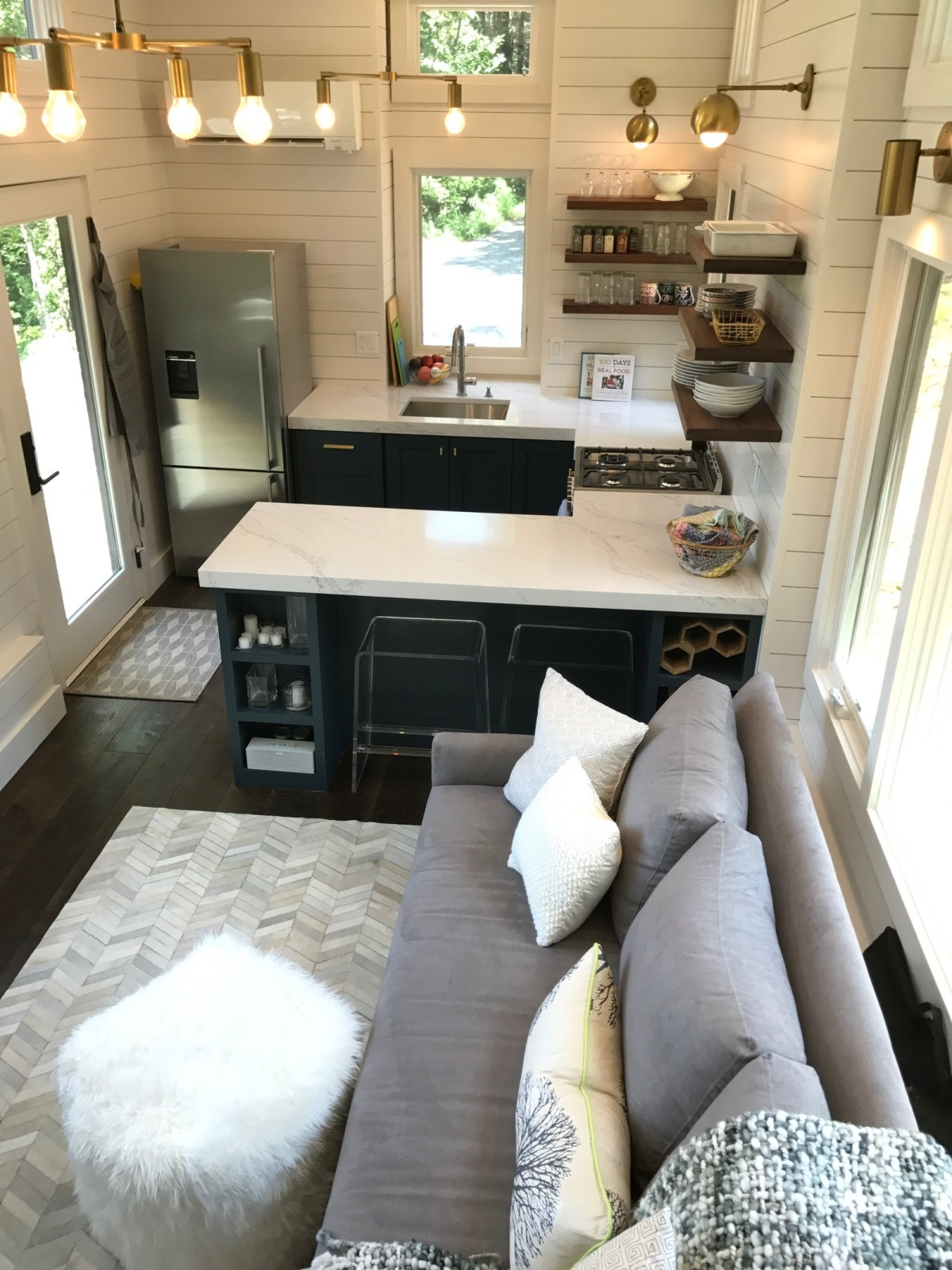 100 Days of Real Food Tiny House