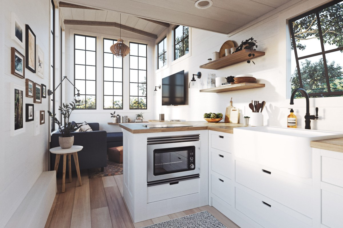 Chic Tiny Home for Millenials