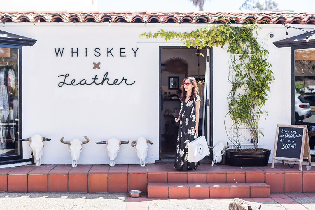 Whiskey and Leather Boutique Santa Barbara