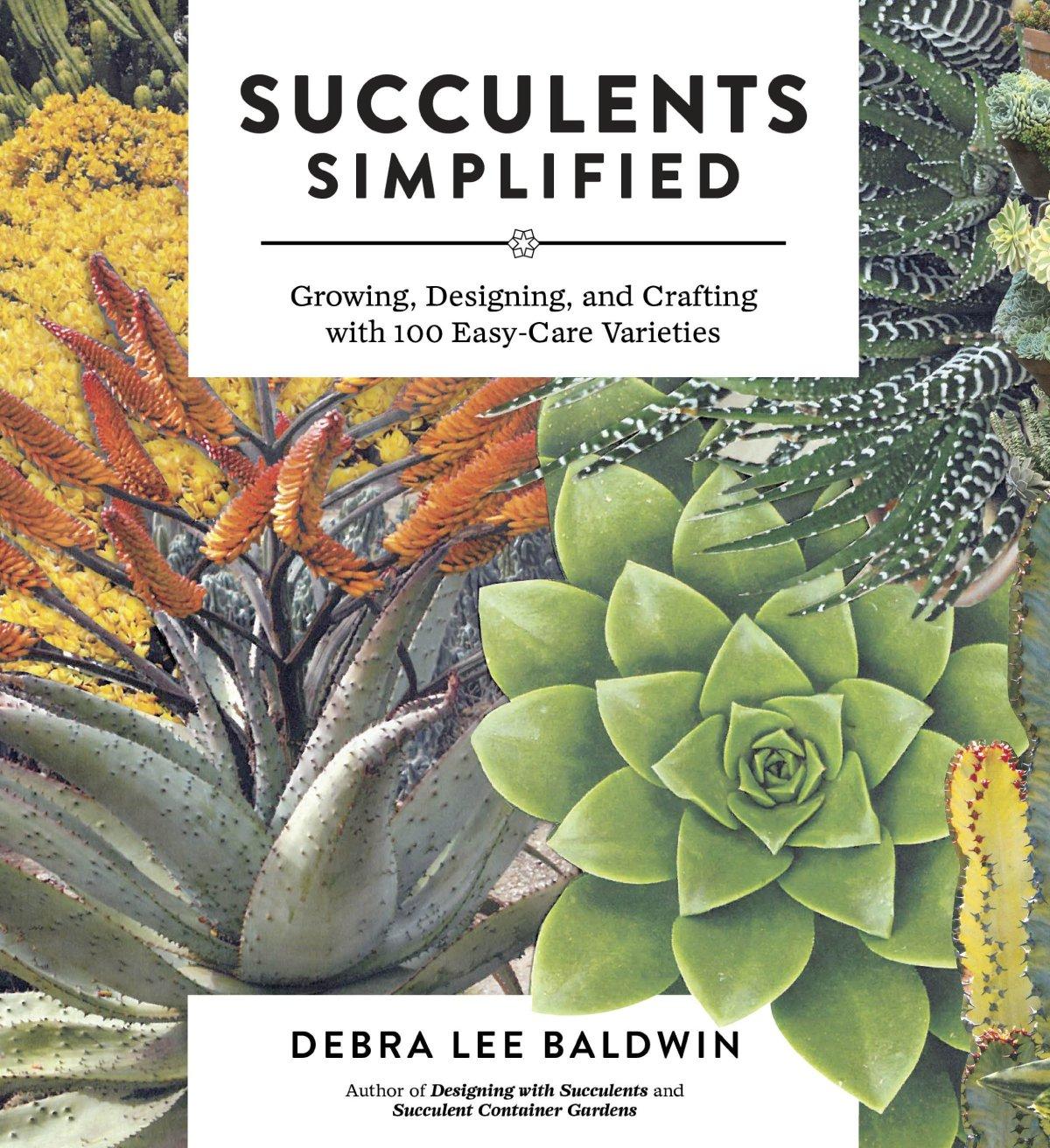 Succulents Simplified by Debra Lee Baldwin