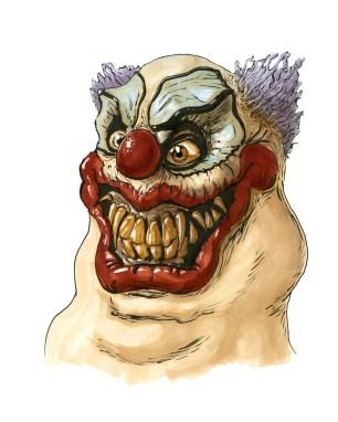 Killer clown sketch