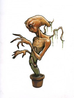 potted alien