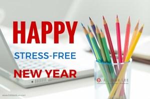 happy stress-free new year