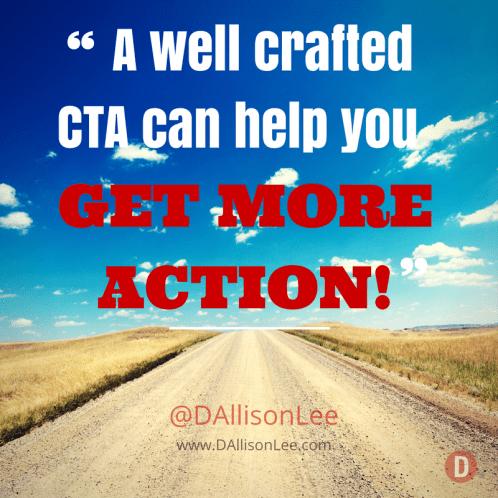 Marketing - Calls to Action - DAllisonLee.com