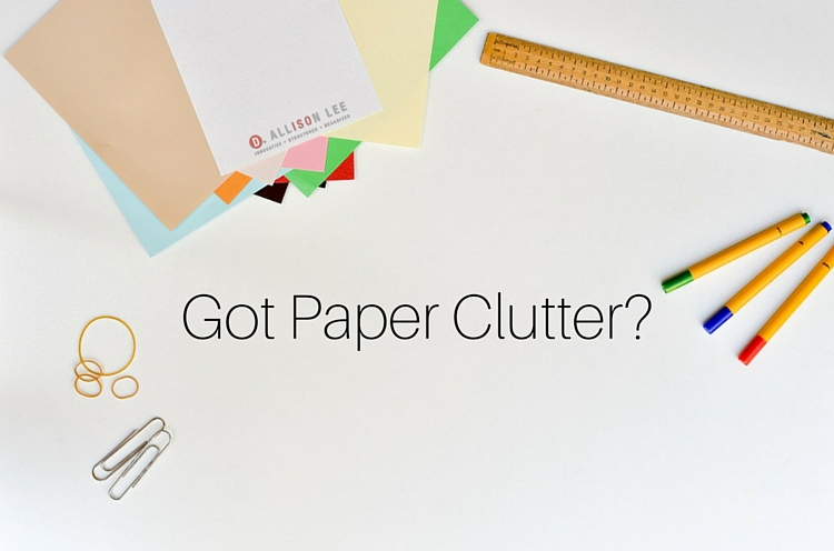 How to Tame Paper Clutter in Your Home or Office