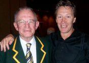 With Craig Bellamy