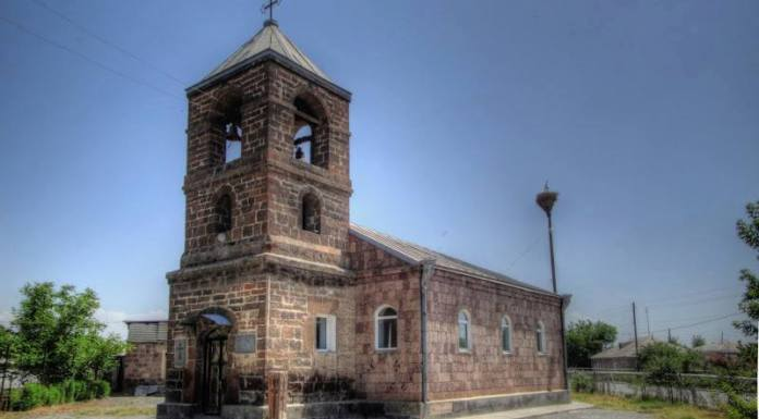 Храм православных ассирийцев, село Димитров, Армения
