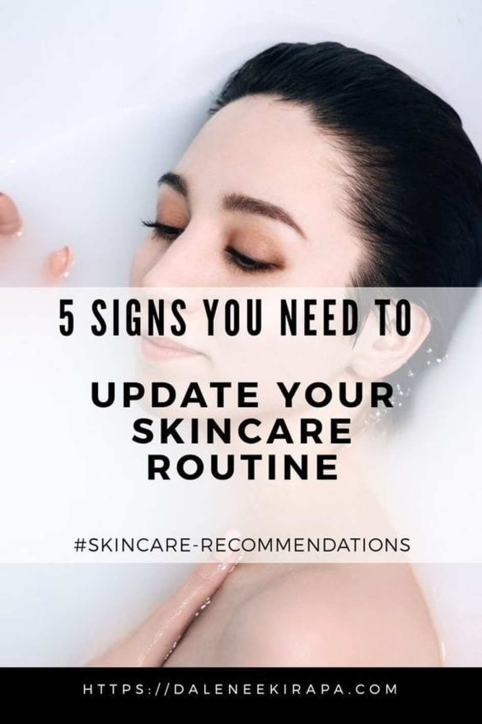 5 Signs You Need to Update Your Skincare Routine