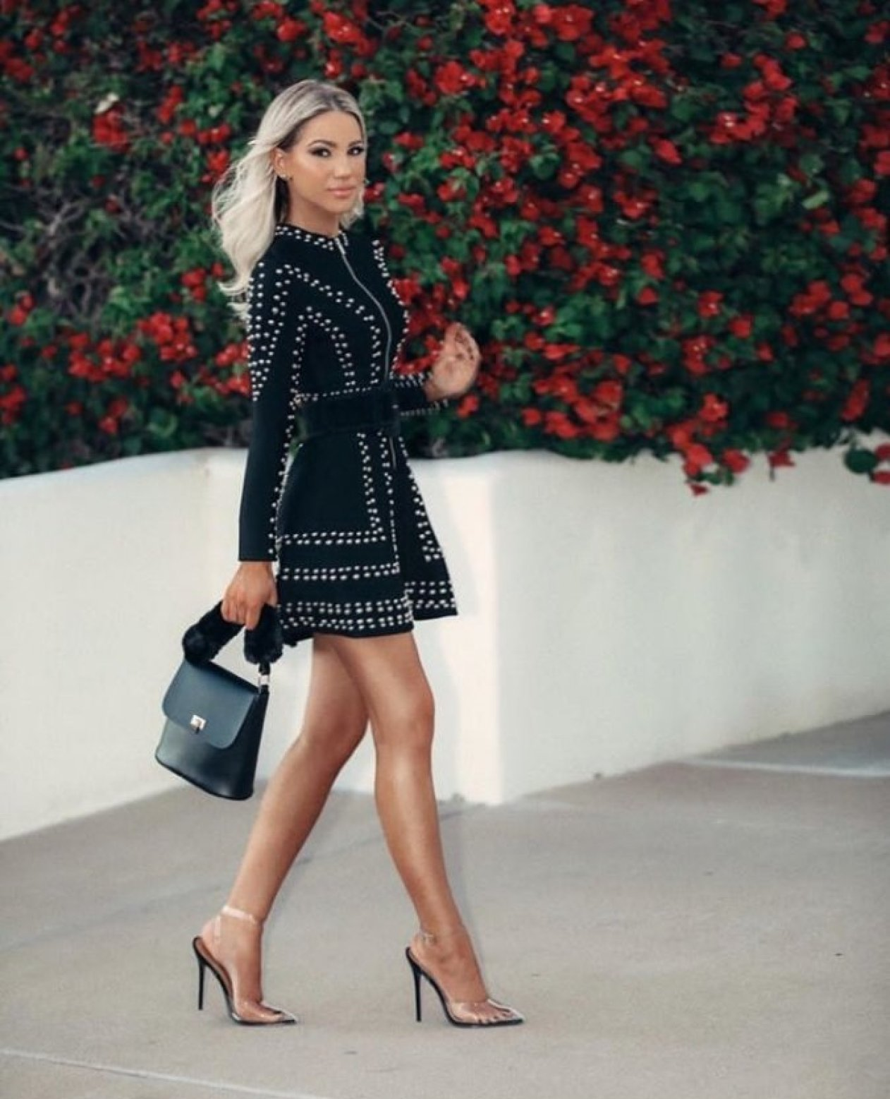 How to Slay Your Looks in Black like Shanda Rogers
