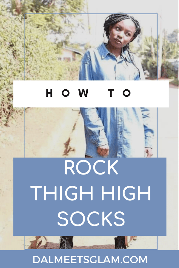 How To Style Thigh High Socks