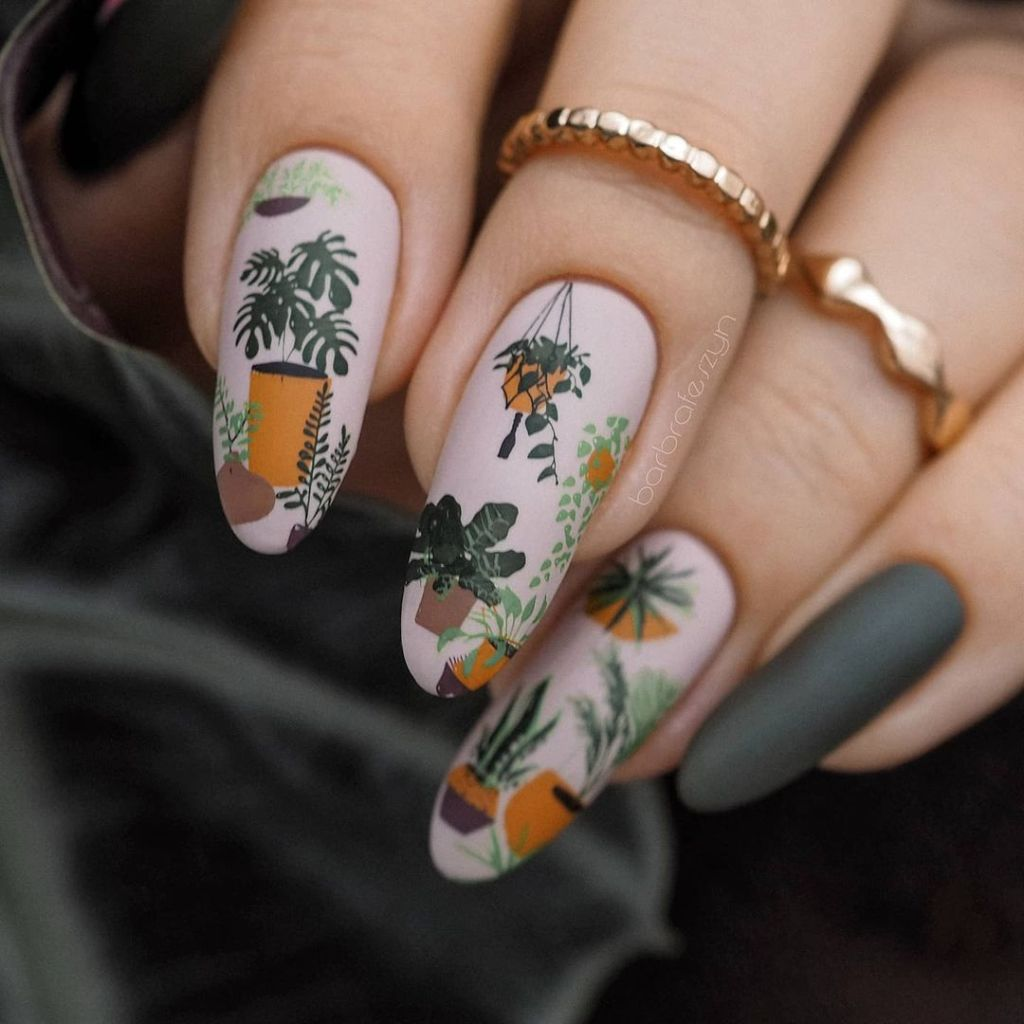 Ideas For Adorable Fall Nails All Autumn