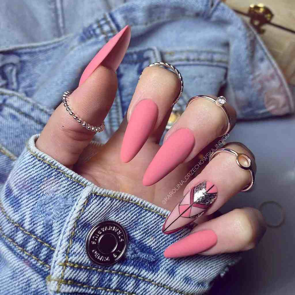 Cute Pink Nail Designs You Will Love