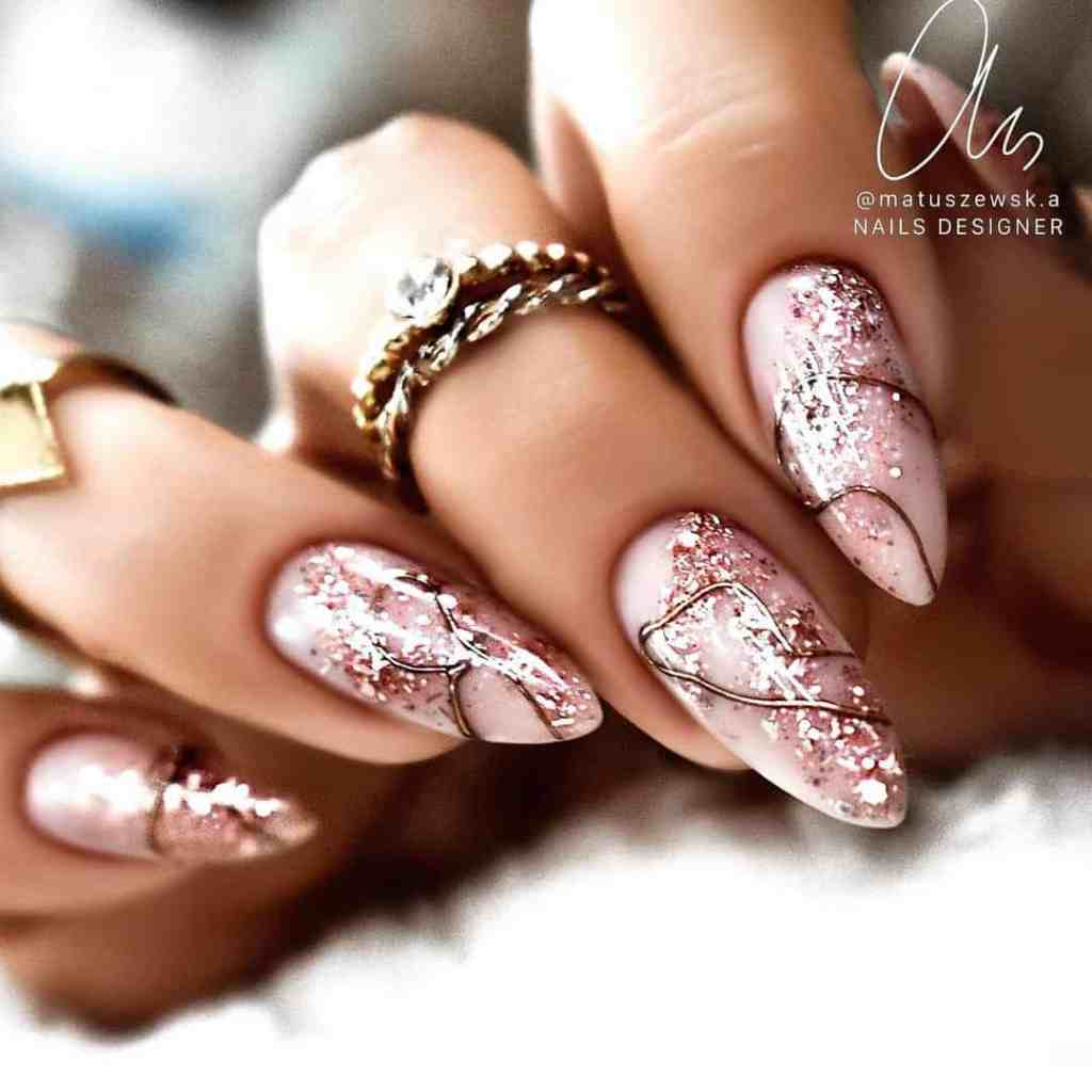 30 Gorgeous Rose Gold Nail Designs To Upgrade Your Mani