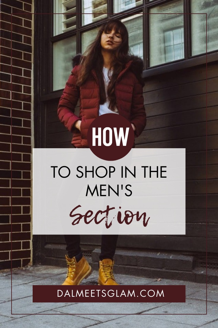 How To Shop In The Men's Section