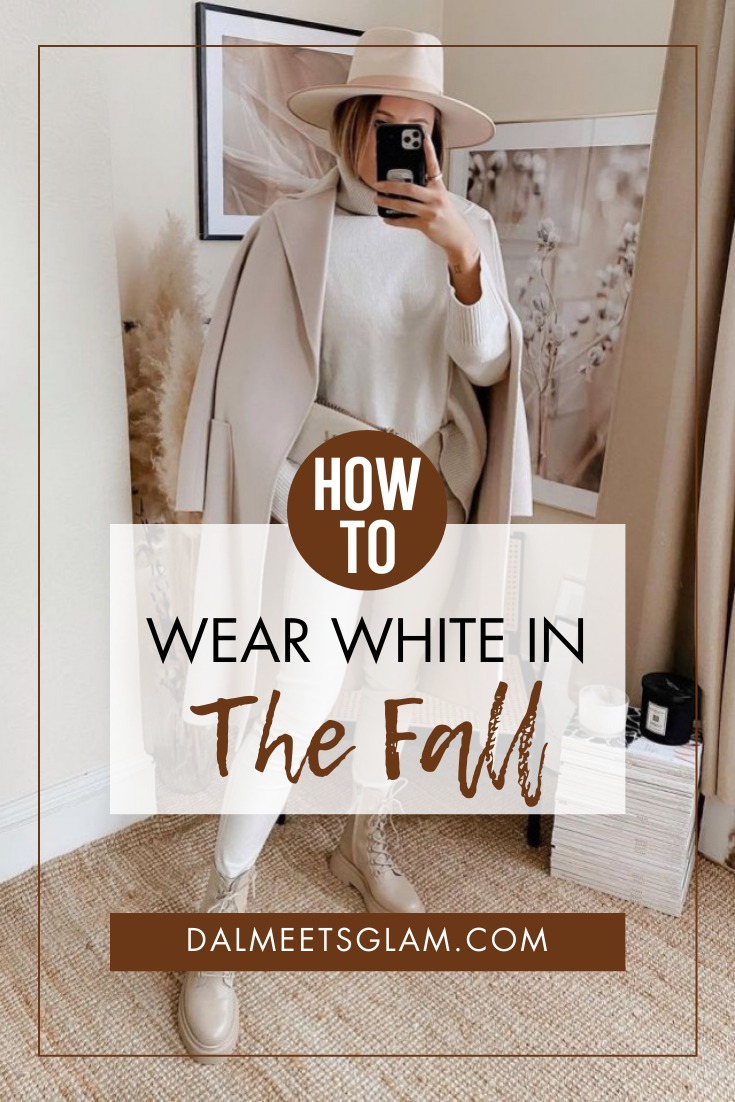 How to Wear White This Fall