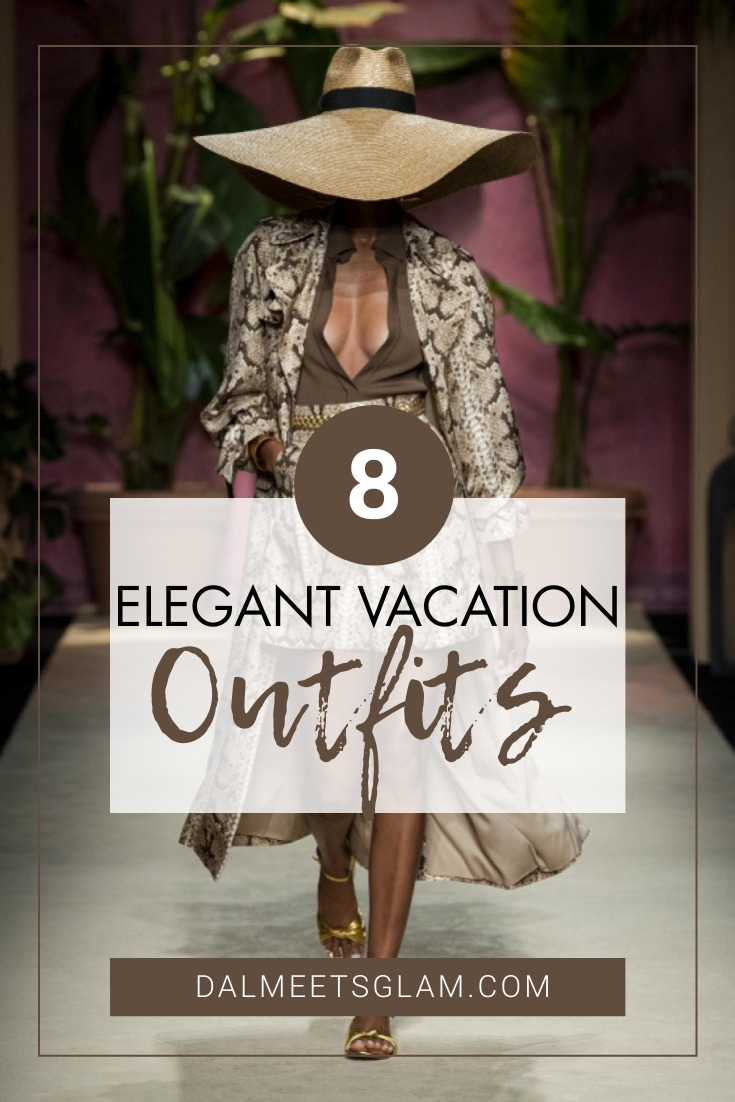 Elegant Vacation Outfits – A Look into Luisa Spagnoli's S-S 2020 Collection