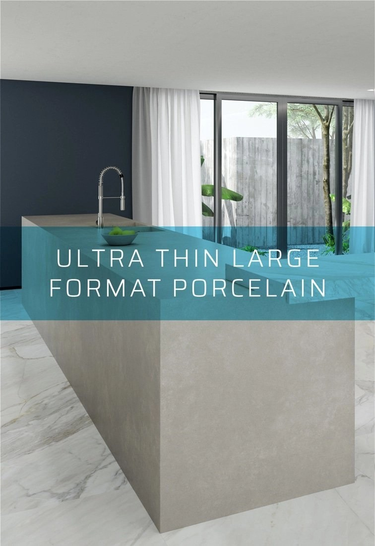 ultra thin large format porcelain dalply