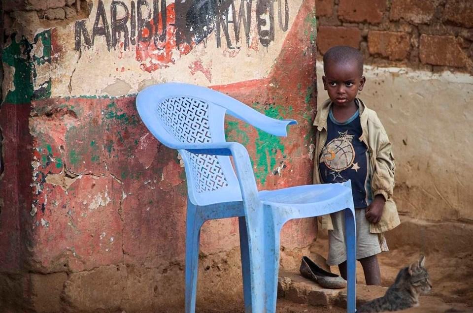 West African Boy.