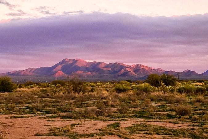 Painted Mountain, Arizona.
