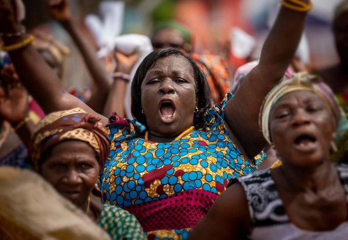 Proud women, Ghana