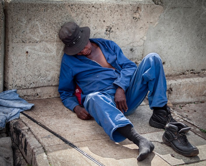 Homeless, South Africa
