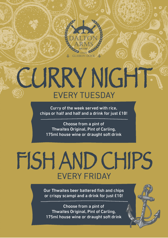 Curry Tuesday - Fishy Friday