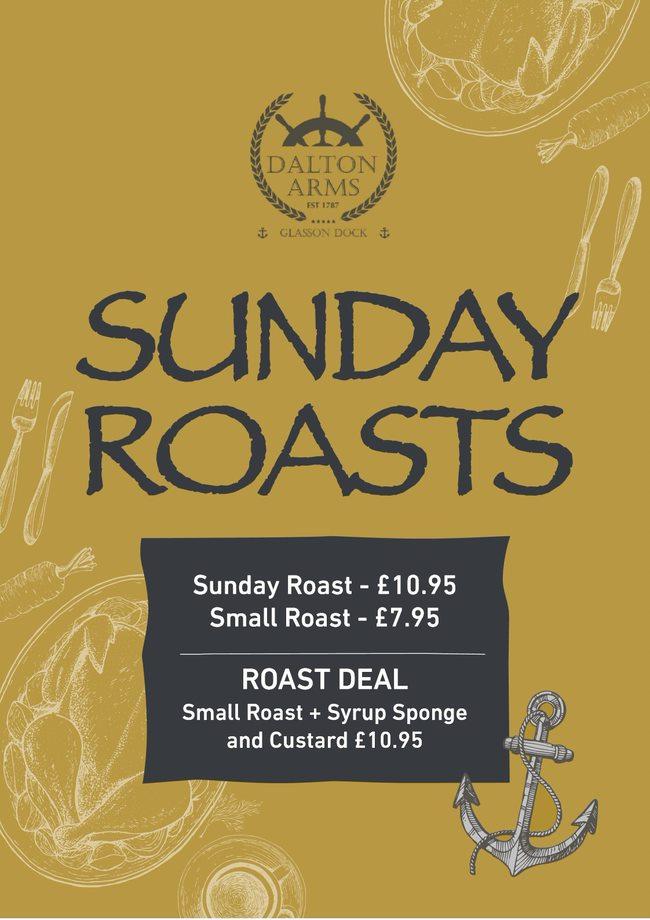 Sunday Roast Deal