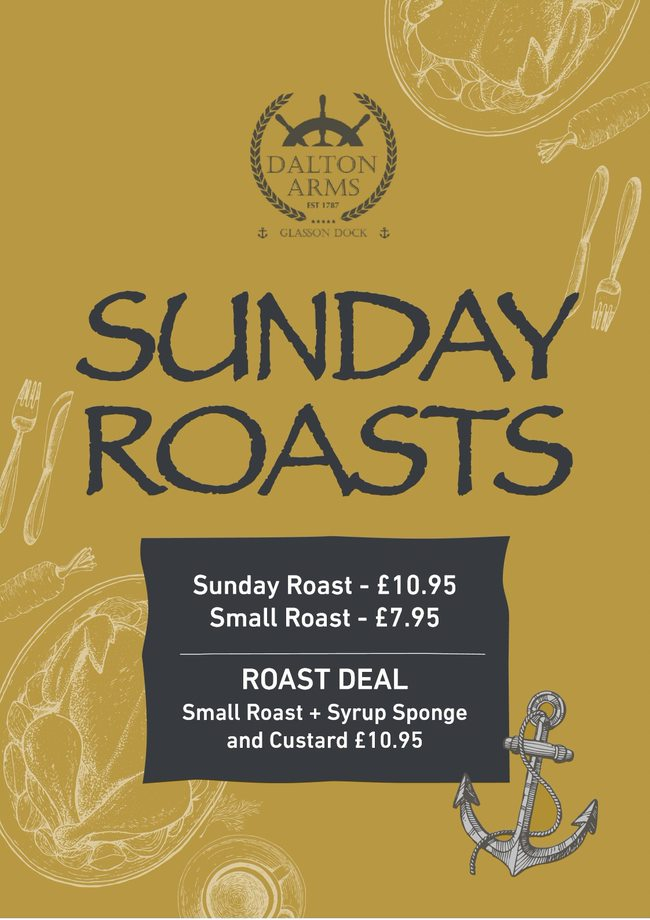 Sunday Roast Deal