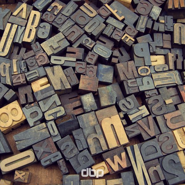 Letterpress Letters