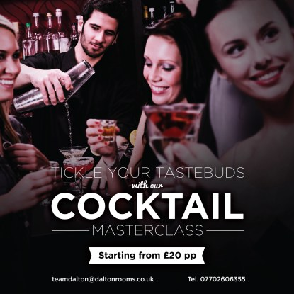 Dalton Rooms cocktail masterclass
