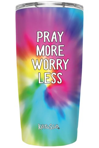 Kerusso 20 oz Stainless Steel Tumbler Pray More